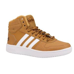 adidas High Top Sneaker, mittelbraun 1029815
