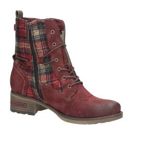 rote stiefel mustang kinder