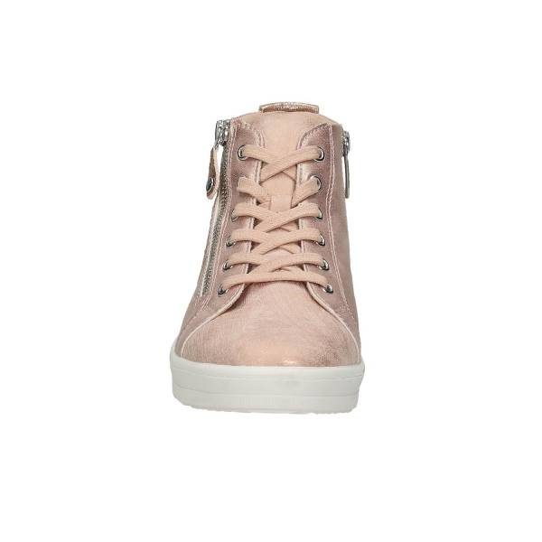 Tamaris High Top Sneaker, rosa auf