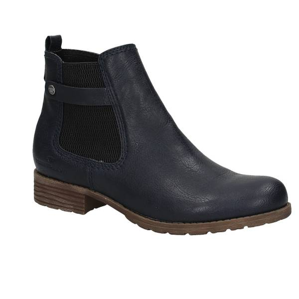 price reduced best sale look for Tom Tailor - Chelsea Boot, dunkelblau auf reno.at