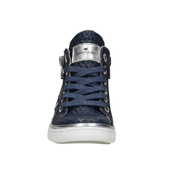 Tom Tailor High Top Sneaker, dunkelblau auf